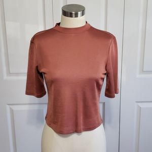 Forever 21 Dusty Pink Blouse